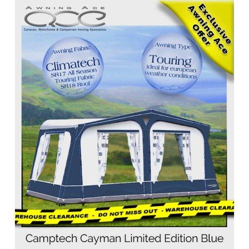 Blue Camptech Cayman All Season Caravan Awning