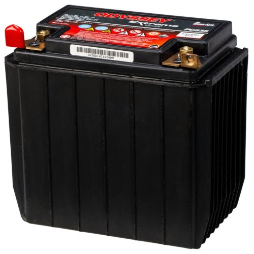 Odyssey AGM Battery 14 Ah Motor Vehicle Power Charger Electrical Systems PC535