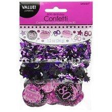Pink Celebration 80th Confetti 34g
