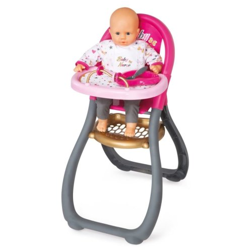 Smoby Baby Nurse High Chair 34x46x65 cm 220310