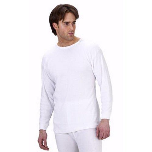 Click THVLSWL Thermal Vest Long Sleeve White Large
