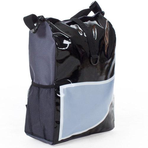 Bike bag water-repellent black/blue
