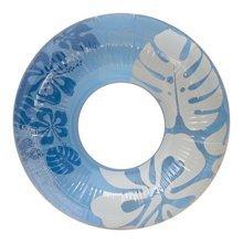 "Aqua-Blue/Clear 36"" Inch inflatable Tube"