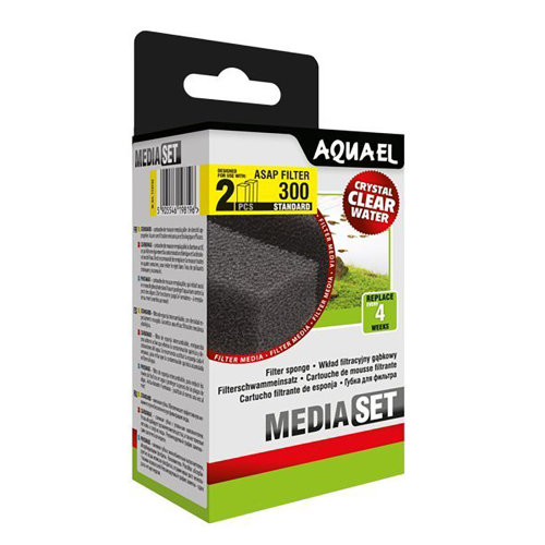 Aquael ASAP 300 Replacement Sponge Standard x2