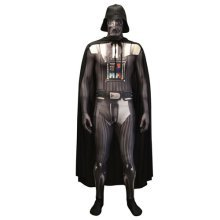 Star Wars Darth Vader Adult Unisex Zapper Cosplay Costume Digital Morphsuit - Medium - Multi-Colour (MLZDVM-M)