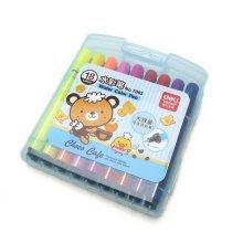 18 Assorted Colors Washable Markers Paint Pen Large Nib