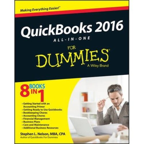 Quickbooks 2016 All-in-one for Dummies