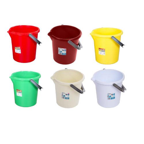Wham 16L & 10L Buckets Storage Cleaning Bins Baby Nappy Bucket