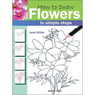 Search Press Books-How To Draw Flowers