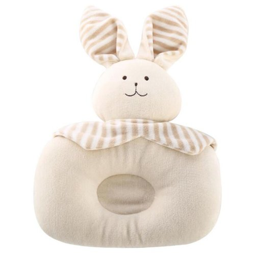 Cartoon Breathable Little Pillows Prevent Migraine For 0-1 Years-Rabbit