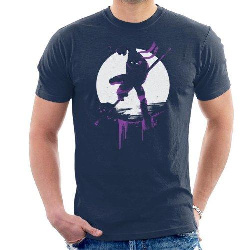 Teenage Mutant Ninja Turtles Donatello Silhouette Men's T-Shirt