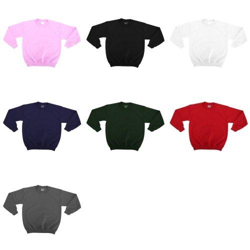 Gildan Childrens Unisex Heavy Blend Crewneck Sweatshirt (Pack Of 2)