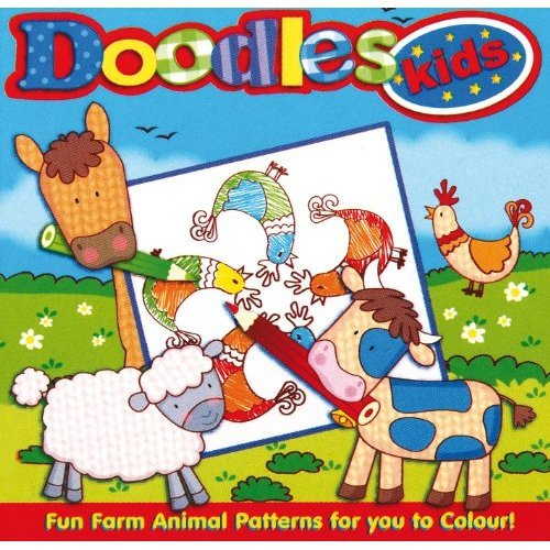 Doodles Kids Colouring Book Design May Vary