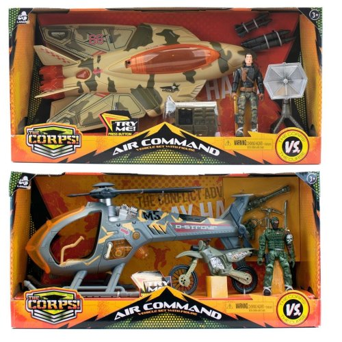 The Corps Air Command Helicopter Or Sledge Hammer Assortment