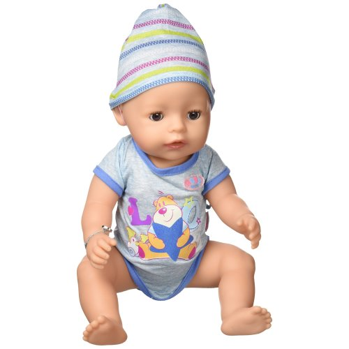 Zapf Baby Born Interactive Boy Doll On Onbuy
