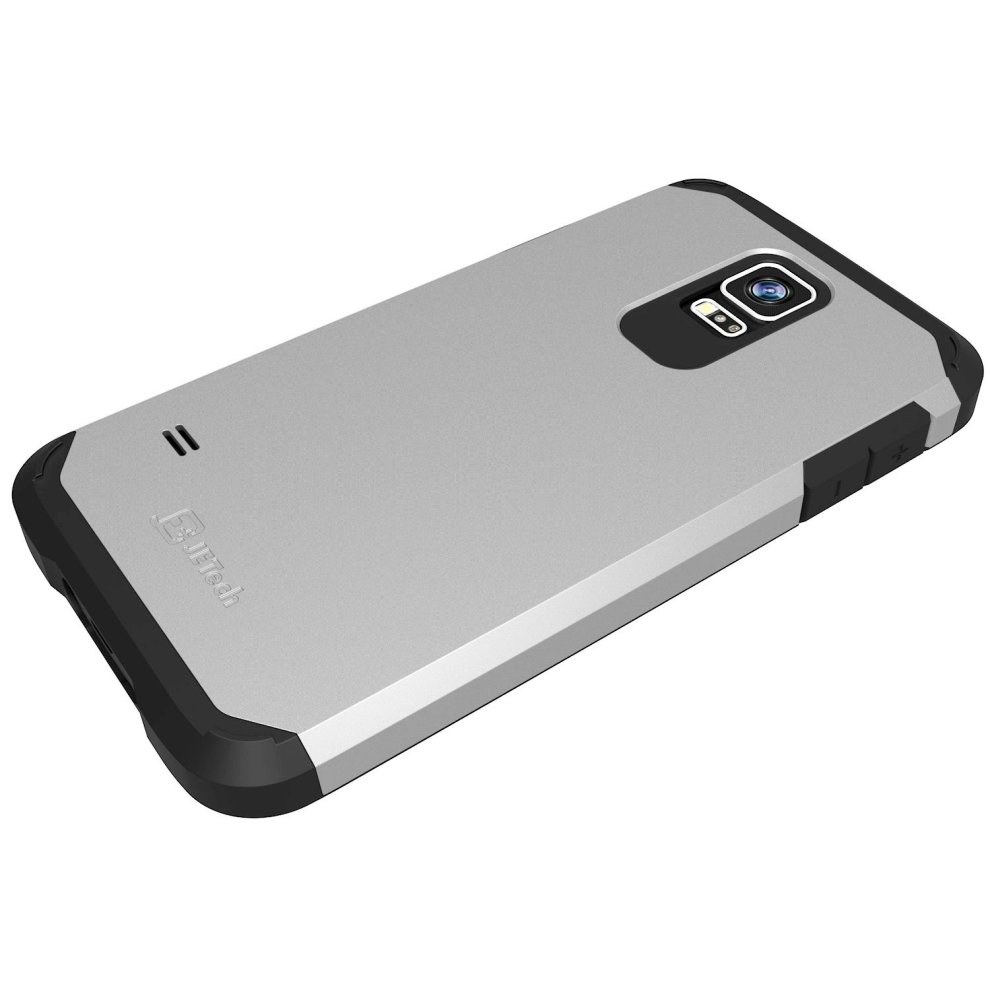 sale retailer 082ce 9f0ae JETech 3011 Case for Samsung Galaxy S5, Protective Cover, Silver