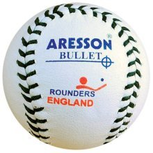 Aresson Bullet Rounders Ball - White, 19.5cm -  aresson rounders ball white 195cm