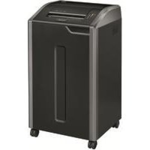 Fellowes 425i Strip shredding Black paper shredder