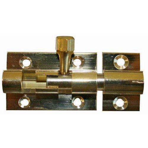 W4 1.5in Brass Bolt Lock