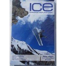 ICE 6x4 190gsm Single Sided Matte (Matt) Photo Paper