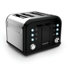 Morphy Richards Accents 4 Slice Toaster With browning control - Black (242031)