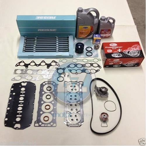 MLS HEAD GASKET SET BOLTS WATER PUMP THERMOSTAT TIMING kit FILTER COOLANT OIL G