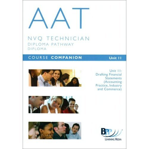 AAT - Unit 11 Financial Statements: Unit 11: Course Companion