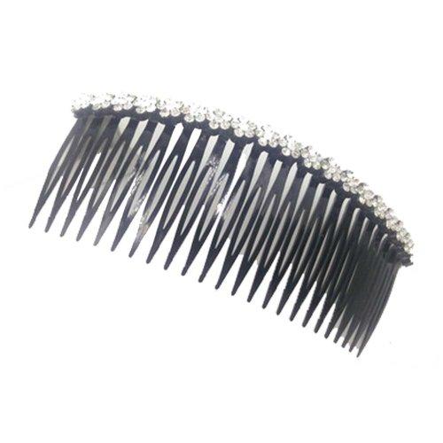 Edge Rhinestone Hair Accessories Hairpin Comb  Bangs Chuck Top Jewelry Card
