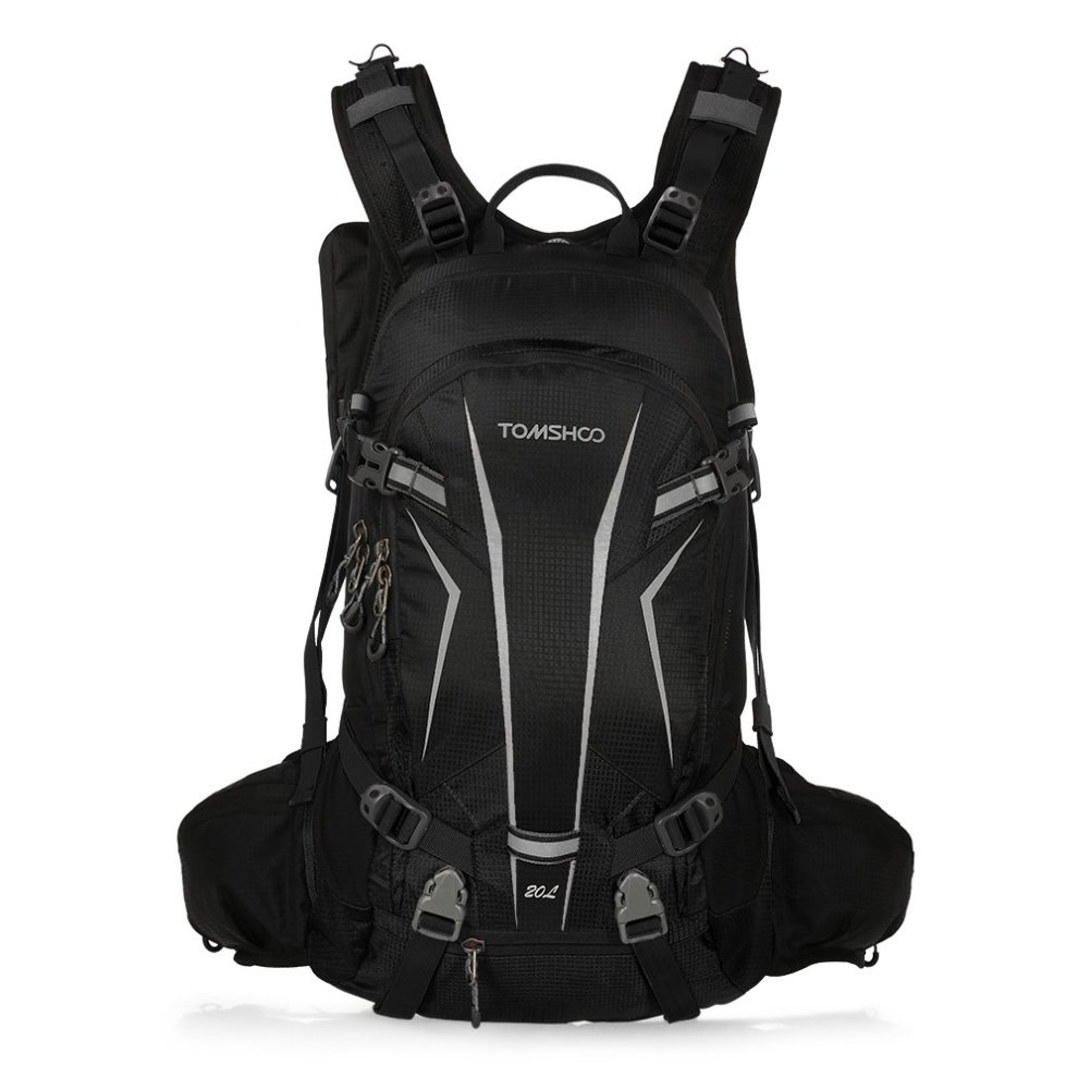 TOMSHOO 20L Cycling Backpack Waterproof Bicycle Bike Backpack Bag Pack  Outdoor Sports Riding Travel Camping Hiking Backpack Daypack with Rain  Cover... on ... bd8fdbcfd