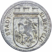 Germany  Stadt Elberfeld 1917 50 Pfennig