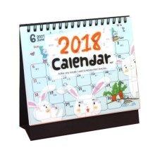 Desk Calendar 2018-(16 MONTHS, Runs from September 2017 through December 2018),E