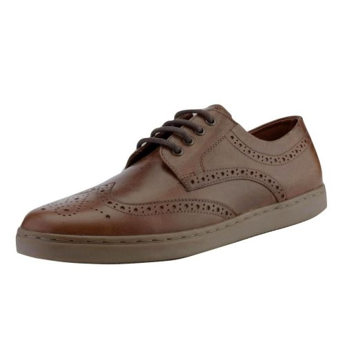 Red Tape Men's Girvan Leather Casual Brogue Shoes Tan