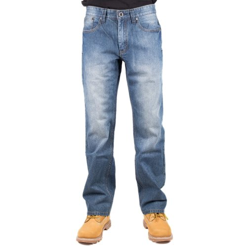 CAT Lifestyle Mens Trax Original Otis Faded Jeans