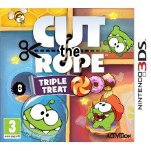 Cut the Rope Triple Treat Nintendo 3ds Game Uk