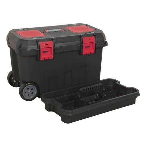 Sealey AP529 Mobile Toolbox with Tote Tray & Organisers 750mm