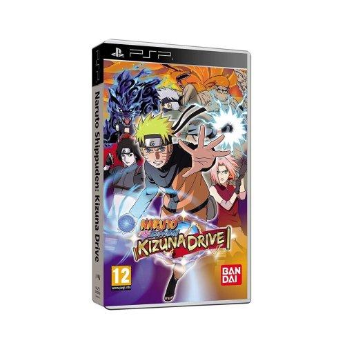 Naruto Shippuden Kizuna Drive Sony PSP Game