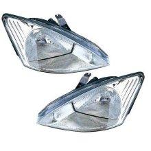 Ford Focus Mk1 Estate 1998-9/2001 Halogen Headlights Headlamps 1 Pair O/S & N/S