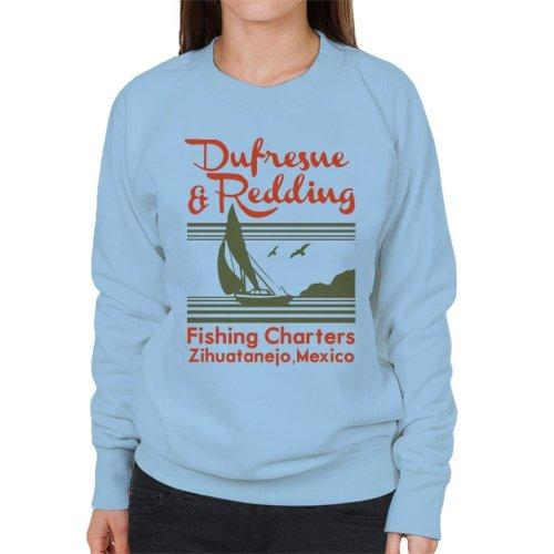 Dufresne Redding Fishing Shawshank Redemption Women's Sweatshirt