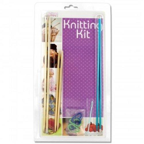 Bulk Buys OS345-8 Multi-Purpose Knitting Kit - 8 Piece
