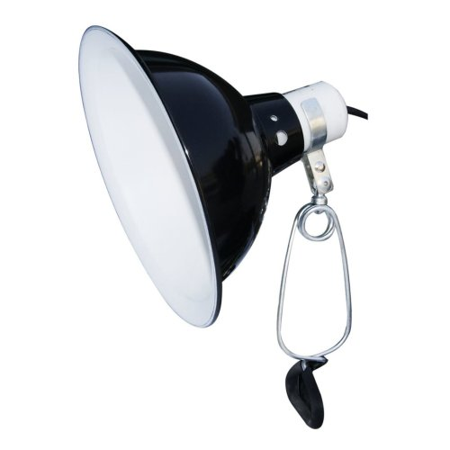 Komodo Reflector Dome Clamp Lamp 21cm