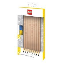 LEGO 9 Pack Graphite Pencils