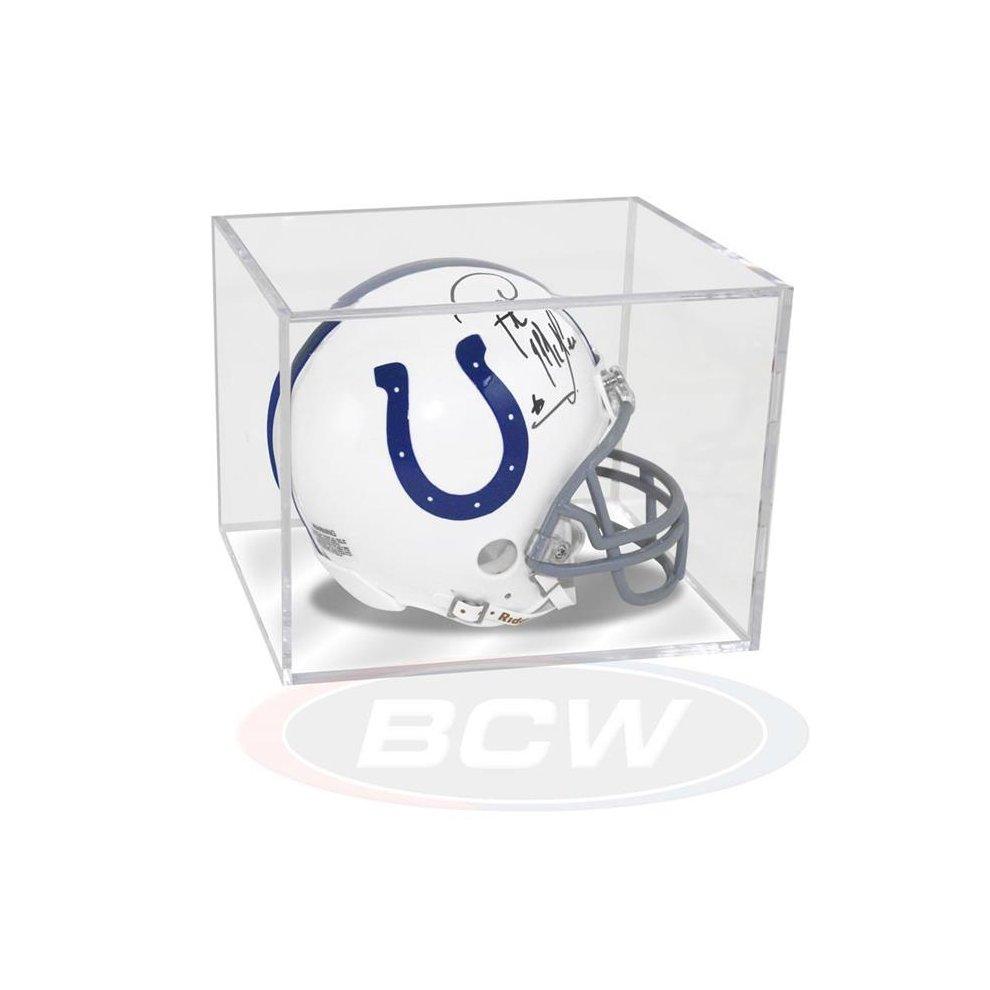 NEW Ballqube Mini Football Helmet Display Case Box
