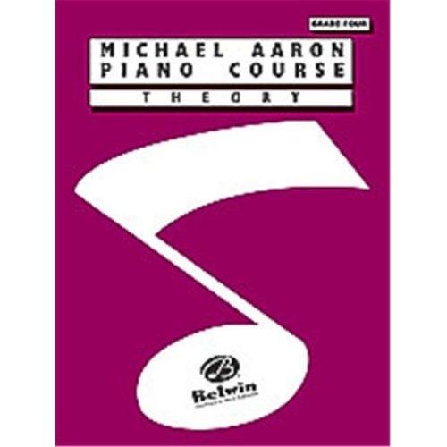 Alfred 00-11004TH Michael Aaron Piano Course- Theory- Grade 4 - Music Book
