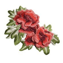 3D Flower Embroidery Applique Sew on Patches Applique Patches Cloth Appliques
