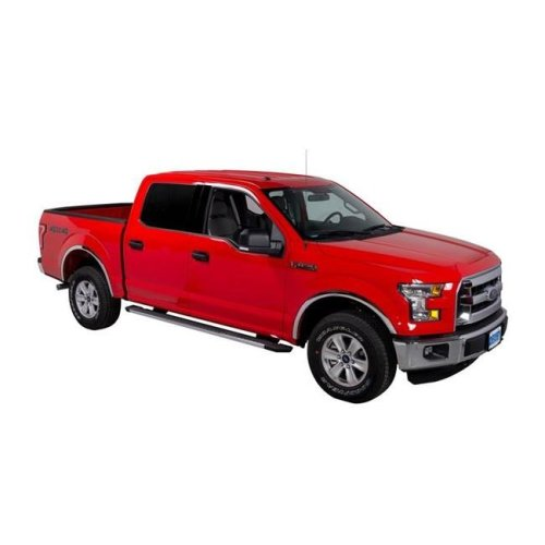 Putco 97265 2015-C F150 with or without Factory Flares Stainless Steel Fender Trim