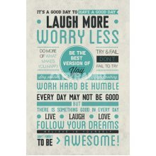 91.5 x 61cm Be Awesome Maxi Poster