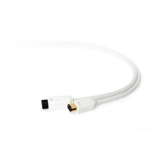 Techlink WiresMEDIA, FireWire 800 - FireWire 400 2m White