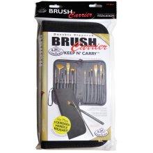 """Keep N' Carry Zippered Standard Brush Carrier-12.5""""X11.25"""""""