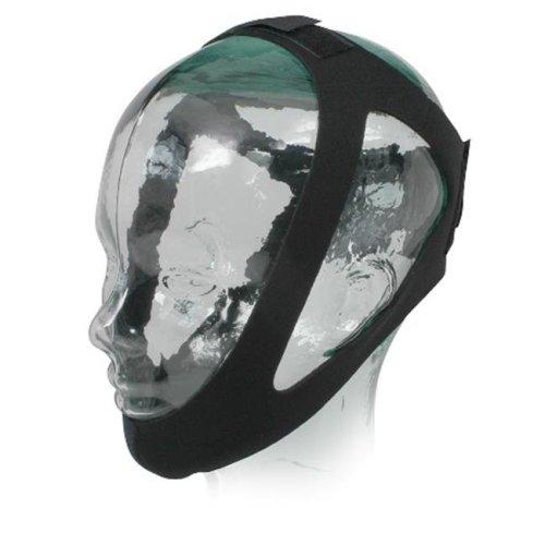 Sunset Healthcare Solutions CS003L Adjustable Chin Strap - Medium Black Neoprene, Large