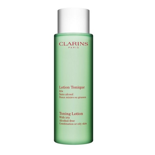 Clarins Toning Lotion With Iris For Combination & Oily Skin - 200ml